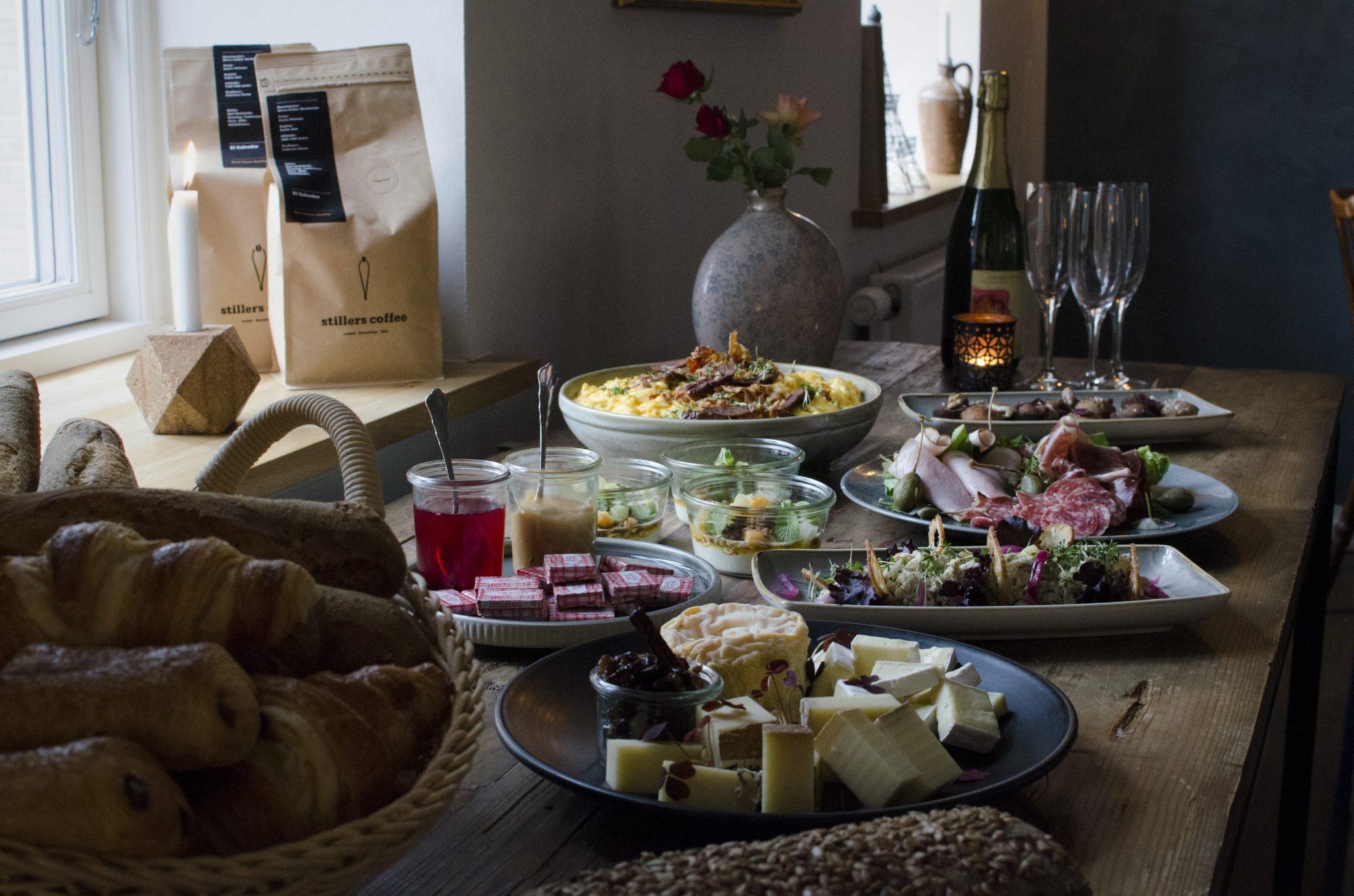 Luksus brunch bord